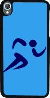 Snapdilla Back Cover for HTC Desire 820, HTC Desire 820 Dual Sim, HTC Desire 820S Dual Sim, HTC Desire 820q Dual Sim, HTC Desire 820G+ Dual Sim(Blue B