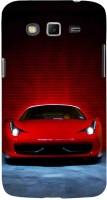 Fuson Back Cover for SAMSUNG Galaxy Grand 2, Samsung Galaxy Grand 2 G7105, Samsung Galaxy Grand 2 G7102, Samsung Galaxy Grand Ii(Dark Red Sports Car)