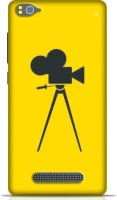 STYLEBABY Back Cover for Xiaomi Mi 4C(Yellow color The Best Fashnable Camara Eith Yellow Back Ground Back Cover) best price on Flipkart @ Rs. 399