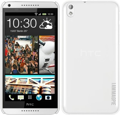 Magpie Back Cover for HTC Desire 816, HTC Desire 816G (Transparent)