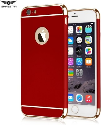 SHINESTAR. Back Cover for Apple iPhone 6s(Red-Gold)