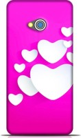 STYLEBABY Back Cover for HTC One M7(Pink color NIce Lovable Hearts Of Pink Back Ground Back Cover) best price on Flipkart @ Rs. 399