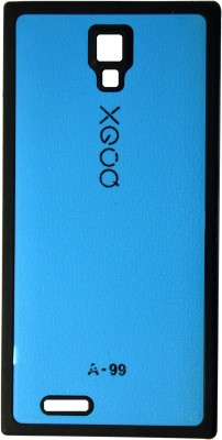 XGOQ Back Cover for Micromax Canvas Xpress A99 (Blue)