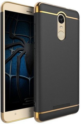 SPL Back Cover for Xiaomi Redmi Note 3(Black)