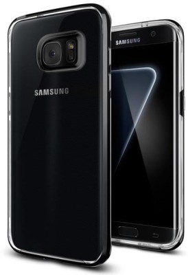 Spigen Back Cover for SAMSUNG Galaxy S7 Edge(Black Pearl)