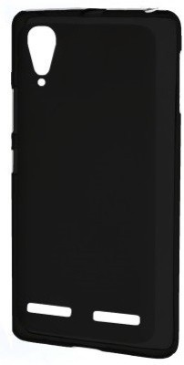 Karpine Back Cover for Lenovo A6000 (Black)