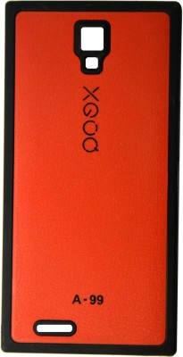 XGOQ Back Cover for Micromax Canvas Xpress A99 (Red)