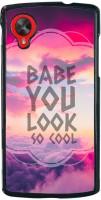 Printvisa Back Cover for LG Nexus 5, LG Google Nexus 5 best price on Flipkart @ Rs. 395