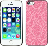 Omega Covers Back Cover for Apple iPhone 5 / 5S(Vintage Retro Rustic Pink Wallpaper) best price on Flipkart @ Rs. 699