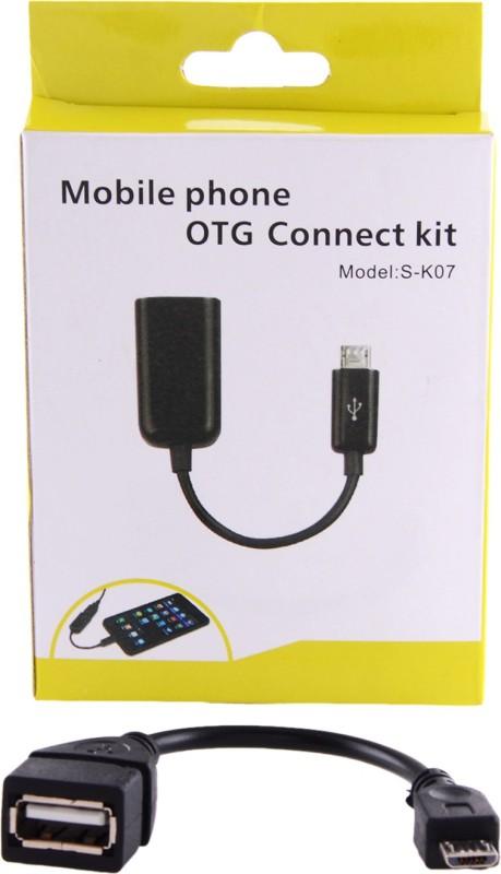 SWASTIK ENTERPRISESS S-K07 OTG Cable(Black)