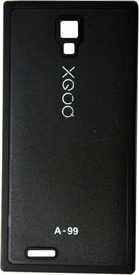 XGOQ Back Cover for Micromax Canvas Xpress A99 (Black)