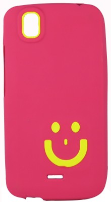 Snooky Back Cover for Micromax Canvas A1 Android One (Pink)