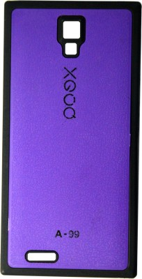 XGOQ Back Cover for Micromax Canvas Xpress A99 (Purple)
