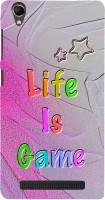 99Sublimation Back Cover for Intex Aqua Power Plus, Intex Aqua Power +(Life Is Game Quotes) best price on Flipkart @ Rs. 385