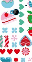 Printvisa Back Cover for HTC One M7, HTC M7(KIDDISH PATTERN IN A WHITE BACK GROUND) best price on Flipkart @ Rs. 487