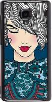 Snapdilla Back Cover for Mi Redmi 1S, Xiaomi Hongmi 1S(Good Looking Cute Pretty Girl Artistic ClipArt Back Cover)