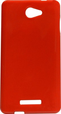 Amaze Mobile Back Cover for Panasonic P55 (Red)