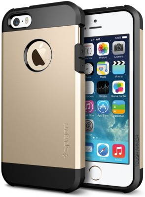 Spigen SGP Back Cover for iPhone 5S, iPhone 5 (Gold)
