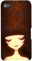Fuson Back Cover for BlackBerry Z10(Cute Girl) best price on Flipkart @ Rs. 519