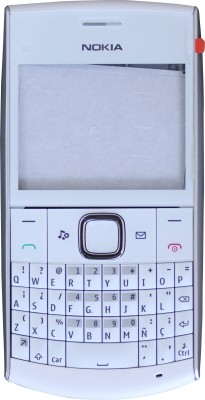 Nokia Back Replacement Cover for Nokia X2-01 Full Housing Body Panel WHITE FREE SIM ADAPTER
