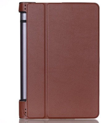 SPL Book Cover for Lenovo Yoga 3 8-inch Tablet(Brown)