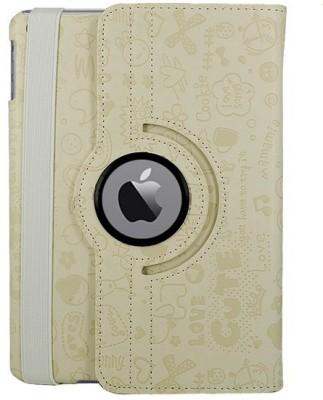 KolorFish Book Cover for Apple iPad Air 2(White)