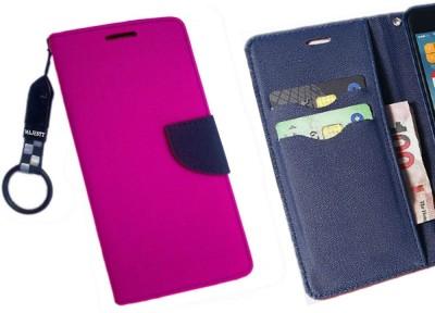 Majesty Flip Cover for Xiaomi Redmi Note 3(Purple)
