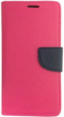 CellRize Flip Cover for Sony Xperia XA(Imported pink)