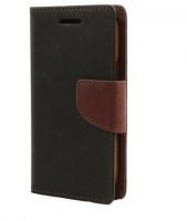 Brand Affaiars Flip Cover for Nokia Lumia 540 black brown