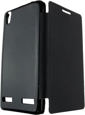 SRP Flip Cover for Lenovo A6000 (Black)