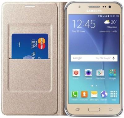 Unistuff Flip Cover for Samsung GALAXY J7-6 (New 2016 Edition)