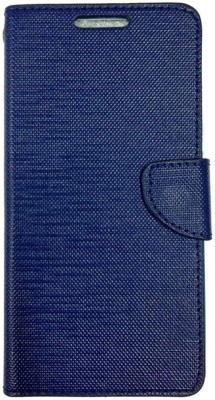 SVENMAR Flip Cover for Micromax Canvas Spark 3 Q385(BLUE)
