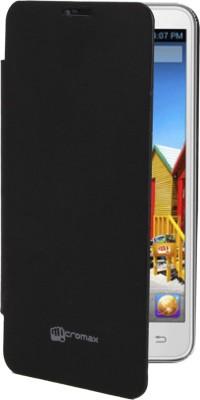 Coverage Flip Cover for Micromax Yu Yureka AO5510 (Black)