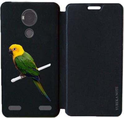 BuyFeb Flip Cover for Micromax Yu Yureka Note Yu6000
