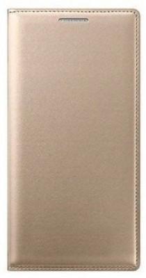 KANZA Flip Cover for Lenovo lemon 3(Gold)