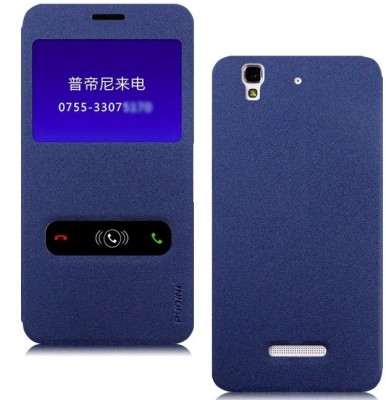 Pudini Flip Cover for YU�Yureka AO5510 (Blue)