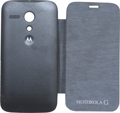 KolorEdge Flip Cover for Moto G (Black)