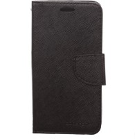 Brand Fuson Flip Cover for Mercury Goospery Flip Cover For Micromax Canvas 2 Colors A120