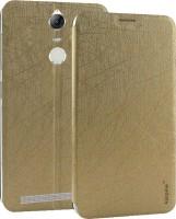 new concept 8c180 a84c1 Karpine Flip Cover for Lenovo Vibe K5 Note(Gold)