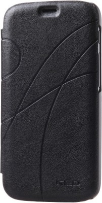 KLD Flip Cover for Micromax Canvas Turbo A250 (Black)