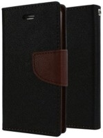 Americhome Flip Cover for Micromax Canvas Doodle 4 Q391(Brown)