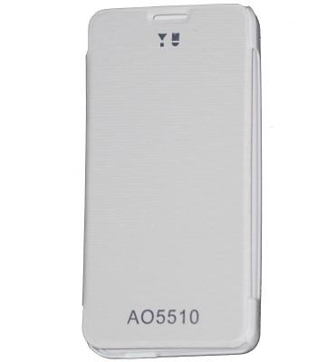 OSR Flip Cover for YU���Yureka AO5510 (White)