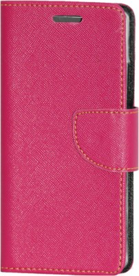 Gizmofreaks Flip Cover for Micromax Canvas Spark 3 Q385(Pink)