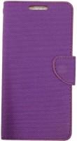 radhika Flip Cover for Micromax Canvas Spark Q380 Premium Flip Cover Case Purpl(purple) best price on Flipkart @ Rs. 280