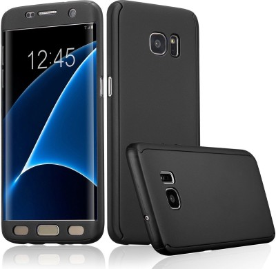 Yofashions Front & Back Case for SAMSUNG Galaxy S7 Edge(Black)