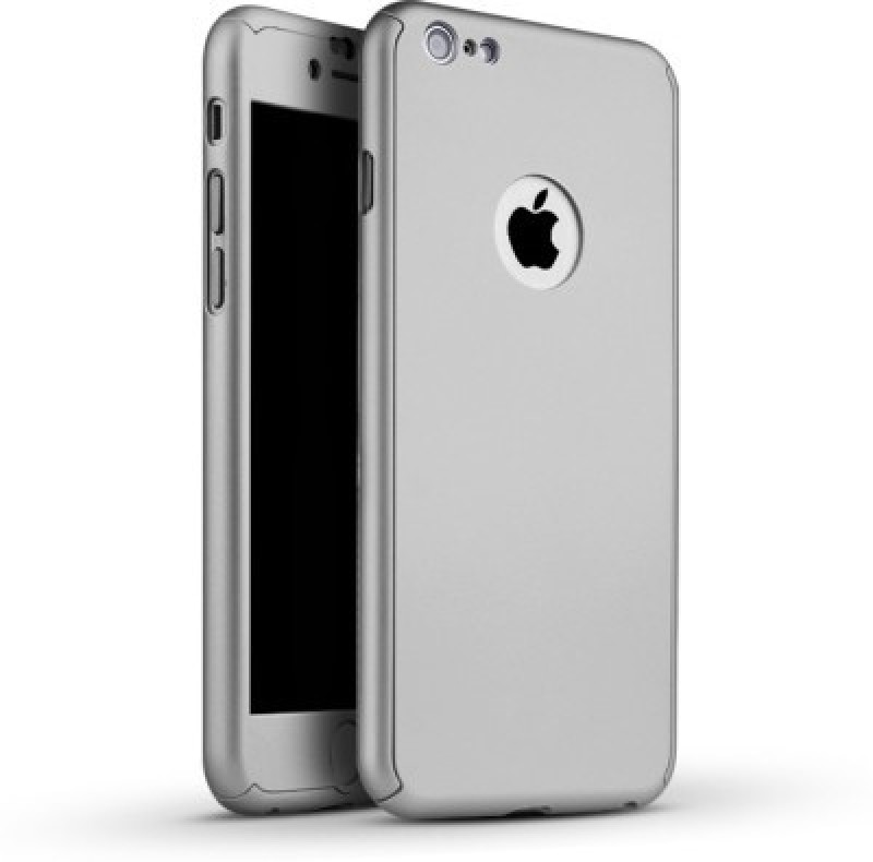 Trig Front & Back Case for Apple iPhone 6S Plus(Silver...