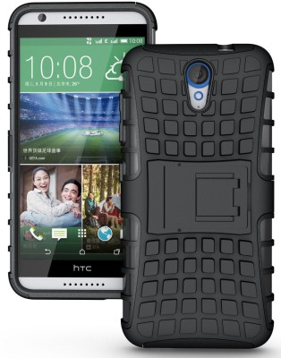 Cubix Shock Proof Case for HTC Desire 620G Dual Sim (Black)