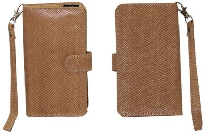JoJo Pouch for Alcatel OneTouch Idol 3 (5.5)(Light Brown)