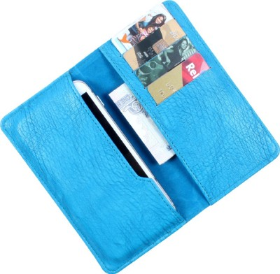 Dooda Pouch for Micromax Canvas Xpress A99 (Blue)