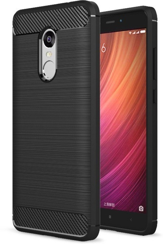 Mobile Mart Shock Proof Case for Xiaomi Redmi Note 4(Black)